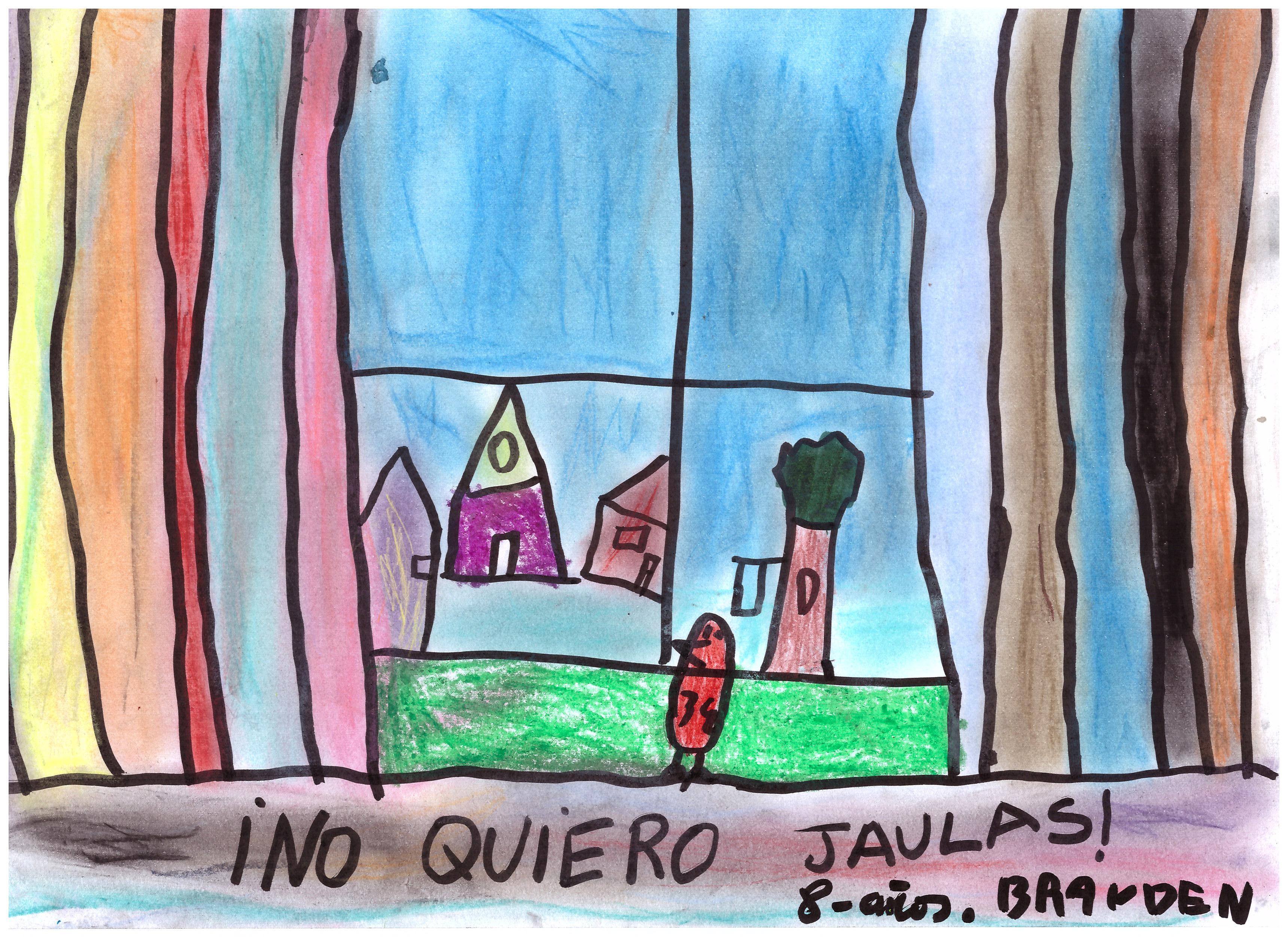 Mejor dibujo del CRA La Abadía (Villaverde de la Abadía): Brayden (3º EP - curso 2019/2020)