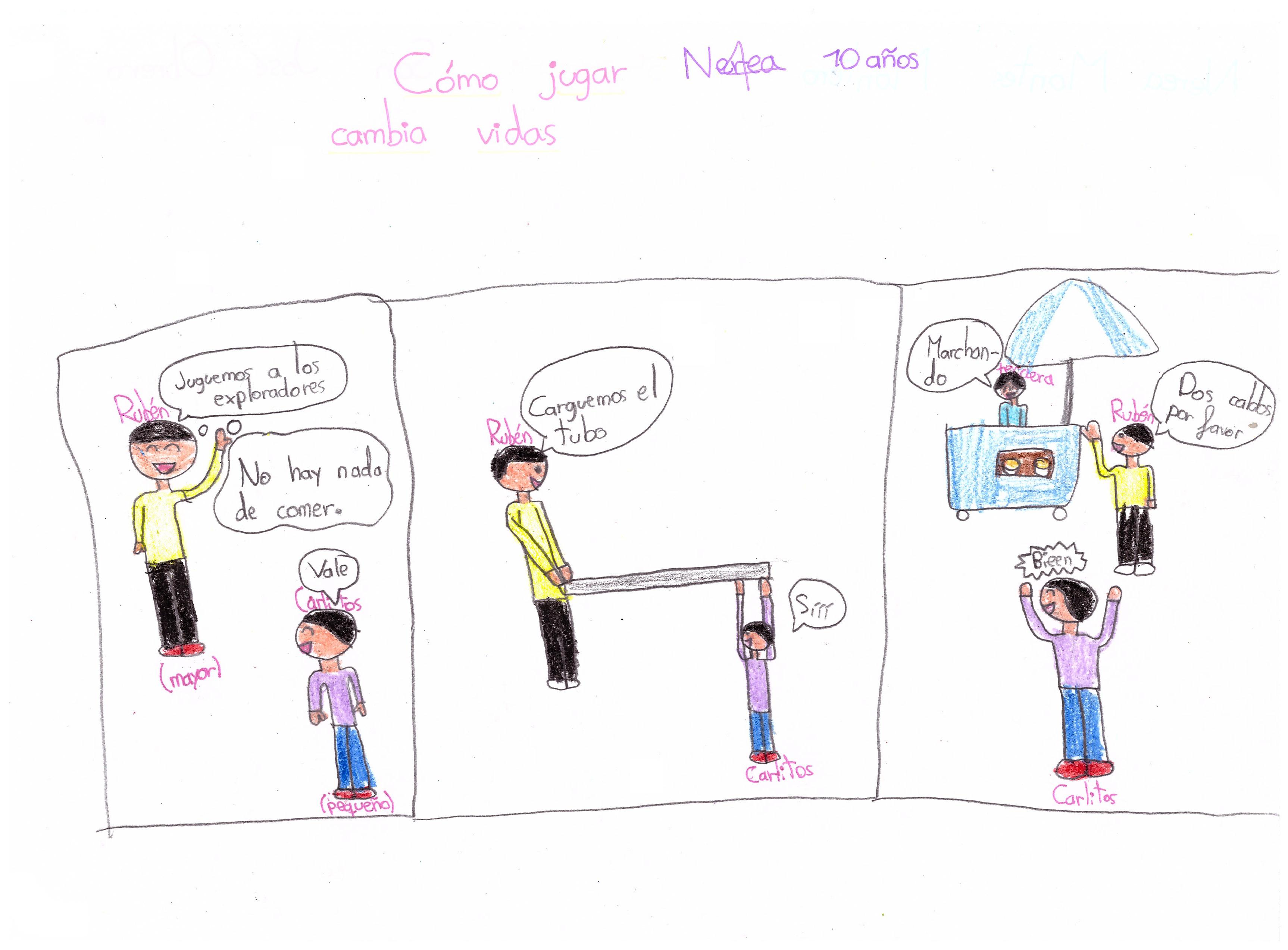 Mejor dibujo del Colegio San José Obrero (Ponferrada): Nerea (5º EP - curso 2019/2020)