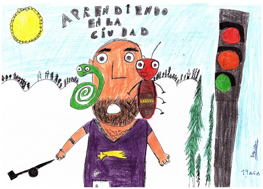 Mejor Dibujo del Colegio de Educación Especial Bergidum de Fuentesnuevas