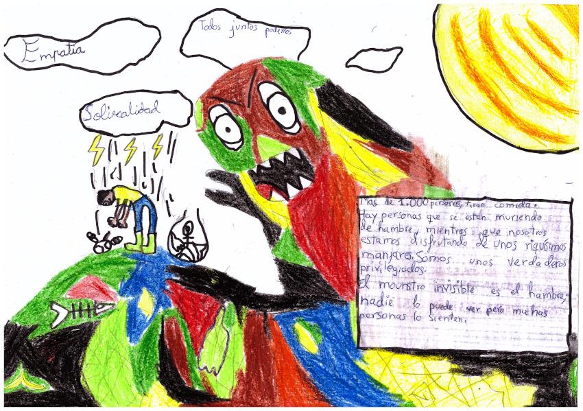 Jasmín (6ºA-EP-Peñalba) El monstruo invisible